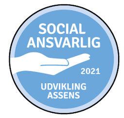 Imagewear.dk tildelt SOCIAL ANSVARLIG badge 2020 og 2021